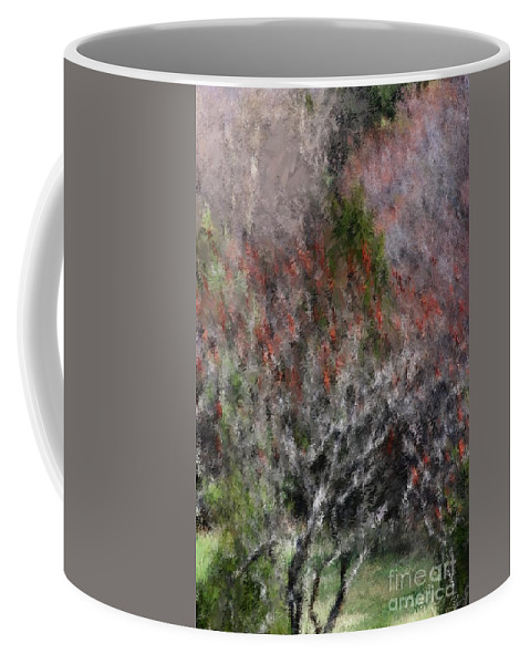 Spring Coffee Mug featuring the photograph Spring At The Hacienda by David Lane