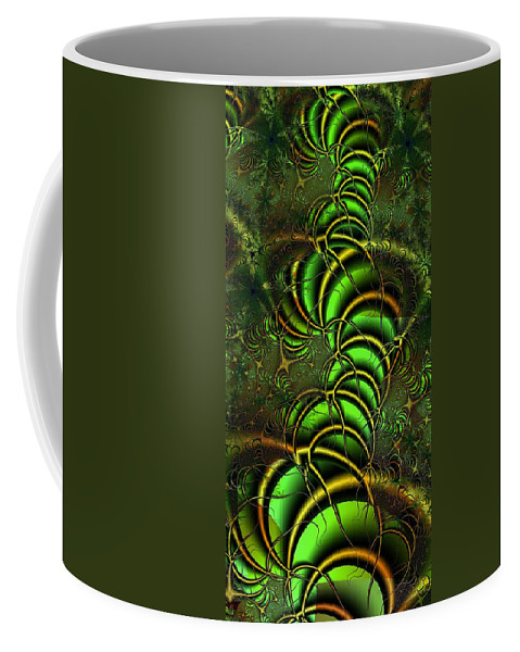 Digital Art Coffee Mug featuring the digital art Spring Awakens by Amanda Moore