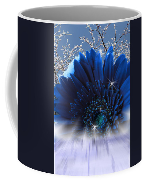 Surrealism Coffee Mug featuring the digital art Spring Emergence by Cathy Beharriell