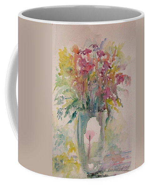 Still Life Coffee Mug featuring the painting Spring Flowers by Rita Fetisov