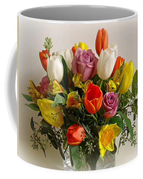 Flowers Coffee Mug featuring the photograph Spring Flowers by Sandy Keeton