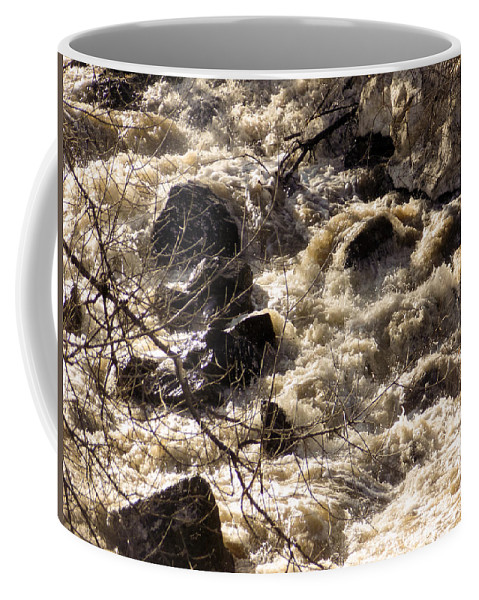 Spring Coffee Mug featuring the photograph Spring Freshet by William Tasker