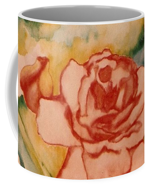 Blooms Artwork Coffee Mug featuring the painting Spring Garden by Jordana Sands