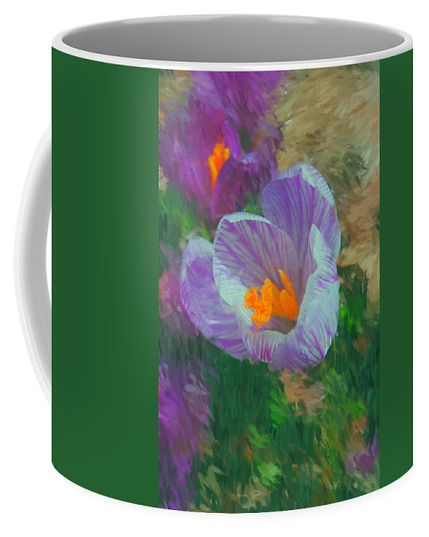 Digital Photography Coffee Mug featuring the digital art Spring Has Sprung by David Lane