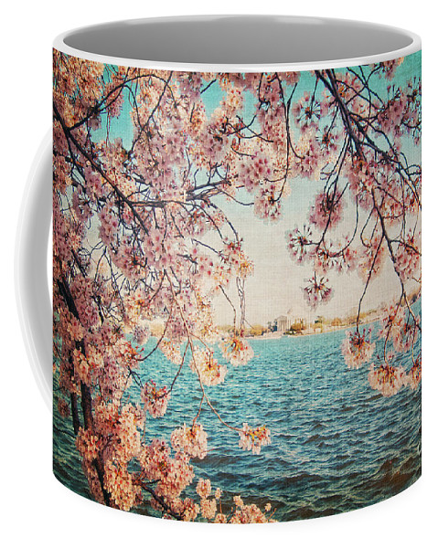 Cherry Blossoms Coffee Mug featuring the photograph Spring In Dc by Emily Kay