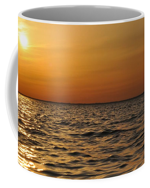 Sunset Coffee Mug featuring the photograph Spring Sunset by Bill Cannon