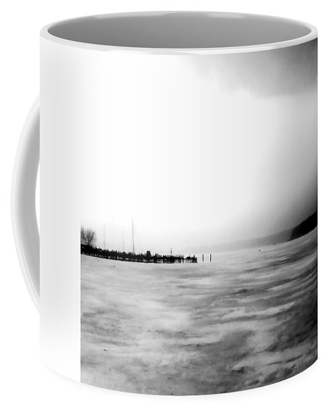 Lake Coffee Mug featuring the photograph Spring Thaw by Michelle Calkins