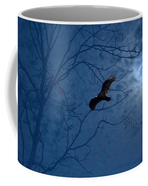 Coffee Mug featuring the photograph Sprit In The Sky by Luciana Seymour