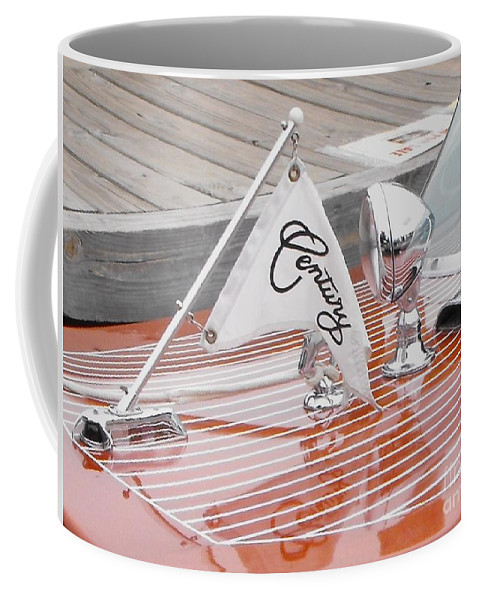 Motor Boat Coffee Mug featuring the photograph Square Bow Resorter by Neil Zimmerman