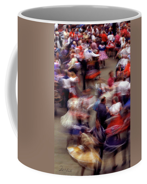Color Coffee Mug featuring the photograph Square Dance Love by Frederic A Reinecke