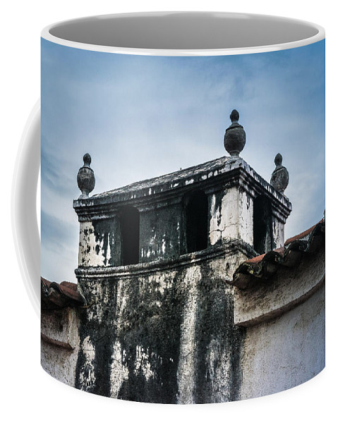 Volcan De Agua Coffee Mug featuring the photograph Square Dome by Totto Ponce