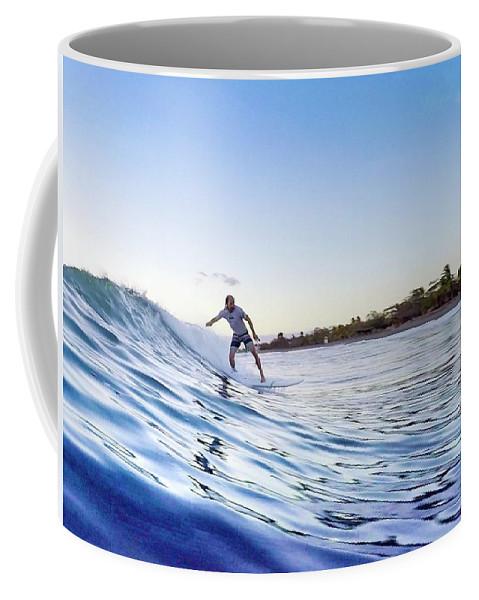 Blue Coffee Mug featuring the photograph Srufer, Dude by Ethan Helferty