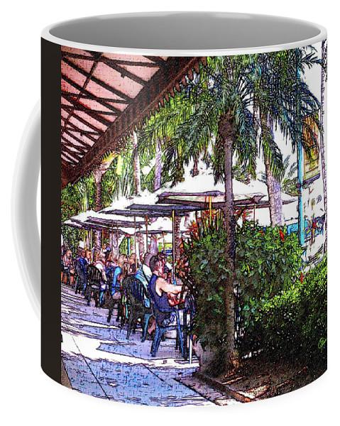 susan Molnar Coffee Mug featuring the photograph St Armands Circle 3 by Susan Molnar
