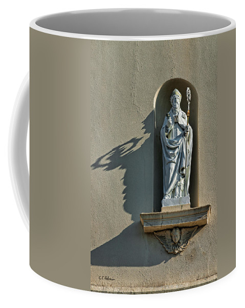 Saint Augustine Coffee Mug featuring the photograph St. Augustine Of Hippo by Christopher Holmes