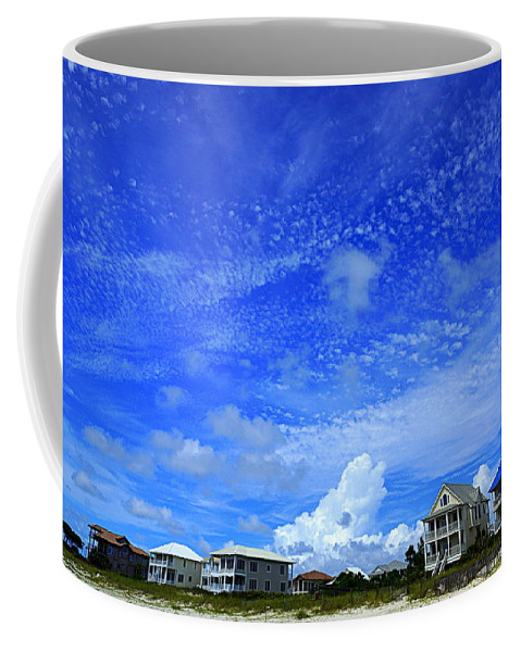 St. George Island Coffee Mug featuring the photograph St. George Island Florida by Paul Wilford