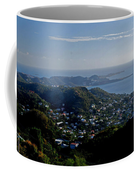Sunset Coffee Mug featuring the photograph St. George's Grenada by Gary Wonning