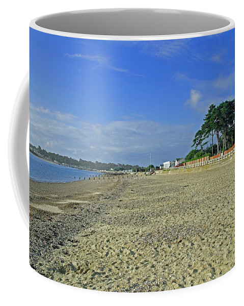 St Helens Coffee Mug featuring the photograph St Helens Beach by Rod Johnson