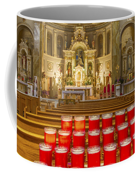 St. Hyacinth Basilica Coffee Mug featuring the photograph St. Hyacinth Basilica by Lindley Johnson