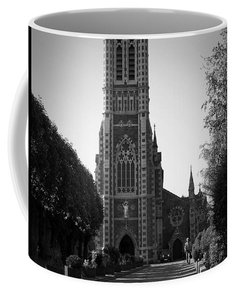 Irish Coffee Mug featuring the photograph St. John's Church Tralee Ireland by Teresa Mucha