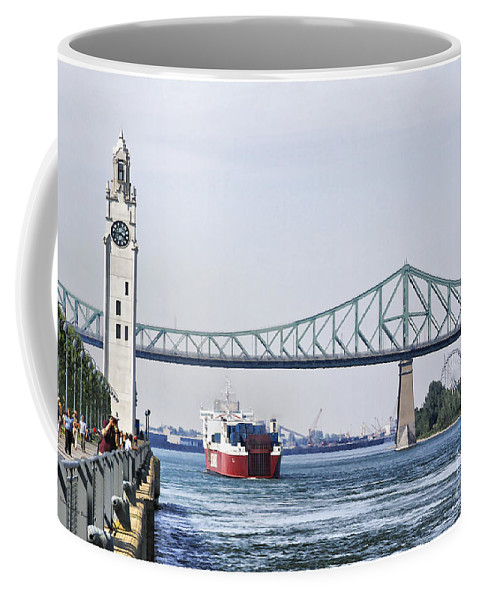 Coffee Mug featuring the photograph St Lawrence And Laronde by Deborah Benoit