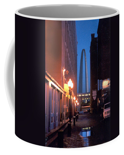 St. Louis Coffee Mug featuring the photograph St. Louis Arch by Steve Karol