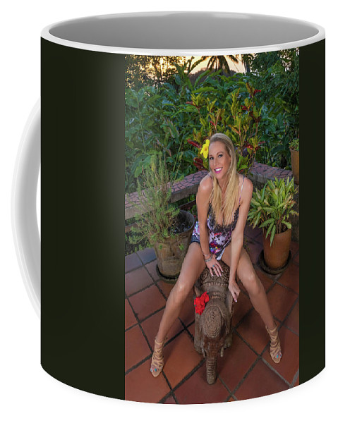 Darcy Lynn Coffee Mug featuring the photograph St Lucia Darcy 36 by Allegory Imaging
