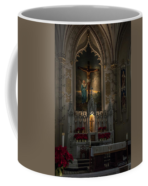 Natchez Mississippi Ms Coffee Mug featuring the photograph St. Mary Altar by Gregory Daley MPSA