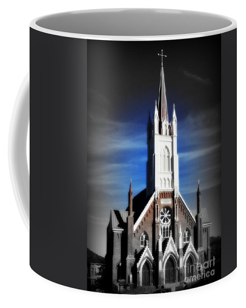 Church Coffee Mug featuring the photograph St. Mary In The Mountains by Joy Patzner