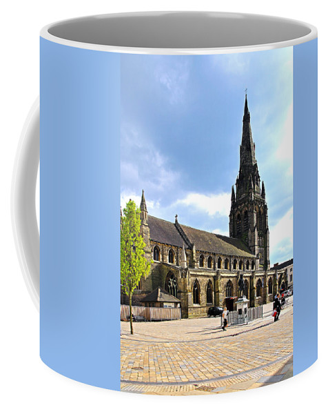 James Boswell Coffee Mug featuring the photograph St Mary's Church At Lichfield by Rod Johnson