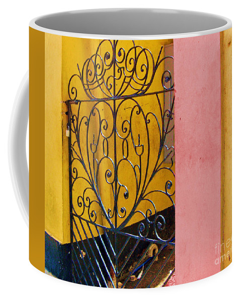 Gate Coffee Mug featuring the photograph St. Thomas Gate by Debbi Granruth