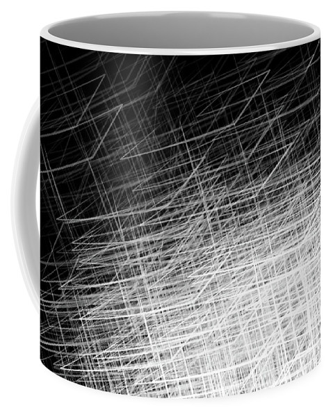 Stacked Boxes2 Coffee Mug featuring the digital art Stacked Boxes 2 by Kris Haney Sirk Designs Ltd