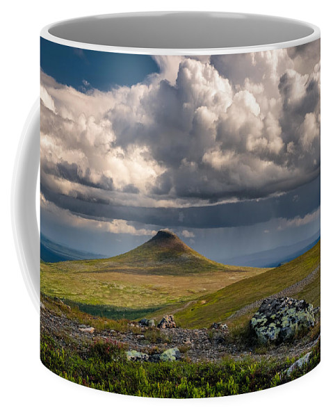 Clouds Coffee Mug featuring the photograph Staedjan by Ludwig Riml