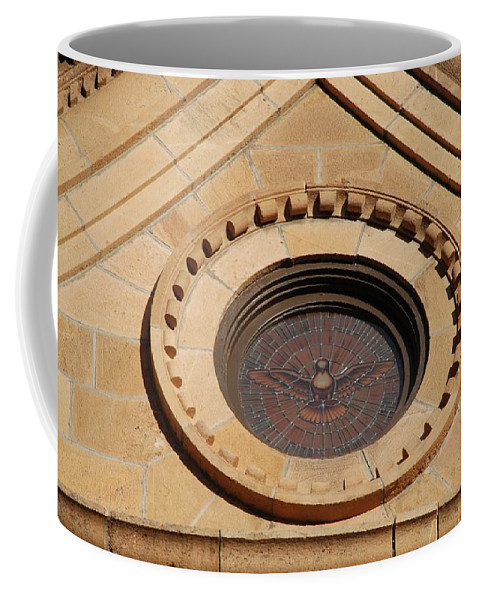 Bird Coffee Mug featuring the photograph Stained Glass Bird by Rob Hans