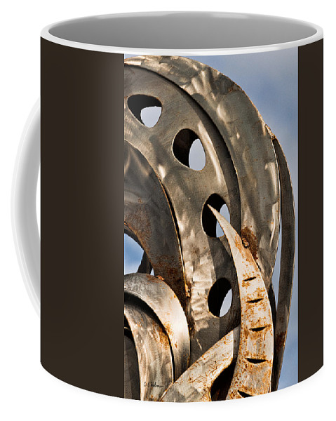 Stainless Coffee Mug featuring the photograph Stainless Abstract II by Christopher Holmes