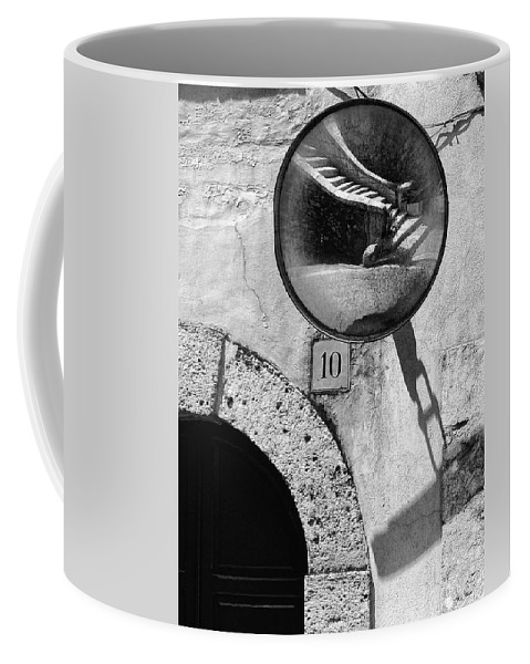 Stairs Coffee Mug featuring the photograph Staircase Reflection by Silvia Ganora