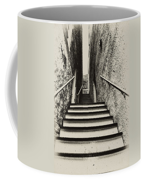 Harpers Ferry Coffee Mug featuring the photograph Stairs At Harpers Ferry by Bill Cannon