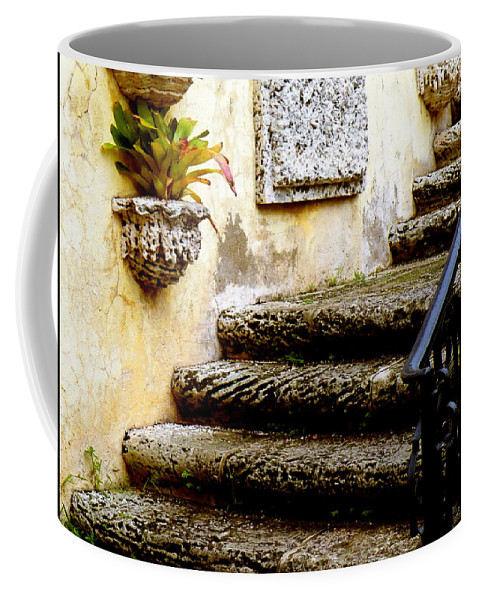 Landscape Coffee Mug featuring the photograph Stairs To Life by Patricia Awapara