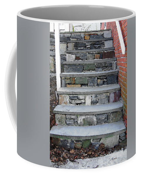 Stairs Coffee Mug featuring the photograph Stairs To The Plague House by RC DeWinter