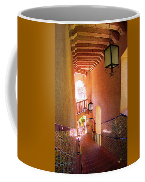 Architecture Coffee Mug featuring the photograph Stairway by Ben and Raisa Gertsberg
