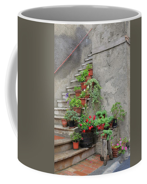 Europe Coffee Mug featuring the photograph Stairway To Heaven by Jim Benest