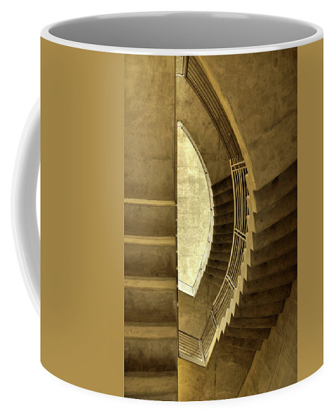 Stairway Coffee Mug featuring the photograph Stairway To Nowhere by Jim Cole