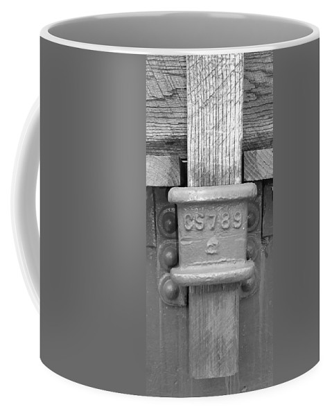 Pat Turner Coffee Mug featuring the photograph Stake Pocket by Pat Turner