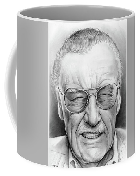 49a34950 Stan Lee Coffee Mug for Sale by Greg Joens