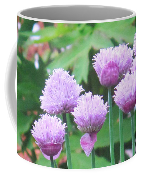 Flower Coffee Mug featuring the photograph Stand Tall by Ian MacDonald