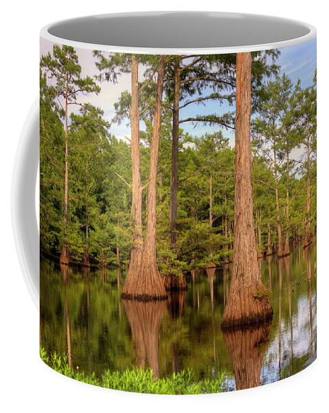 Bayou Coffee Mug featuring the photograph Standing Strong by Ester Rogers