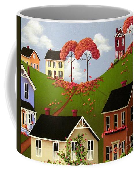 Art Coffee Mug featuring the painting Staplehill by Catherine Holman