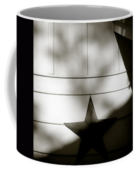Star Coffee Mug featuring the photograph Star And Stripes by Dave Bowman