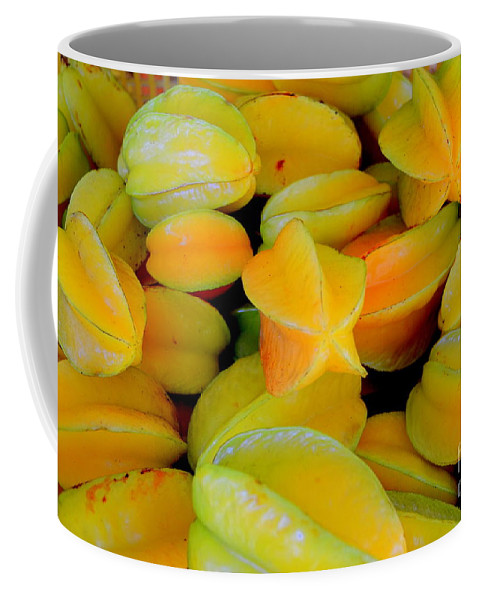 Star Fruit Coffee Mug featuring the photograph Star Fruit by Mary Deal