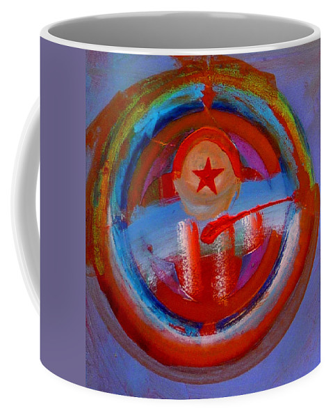 Love Coffee Mug featuring the painting Star Of The Sea by Charles Stuart