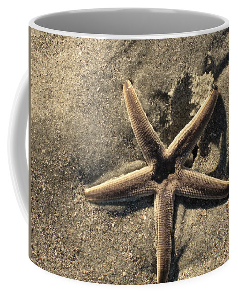 Star Of The Sea Coffee Mug featuring the photograph Star Of The Sea by Susanne Van Hulst